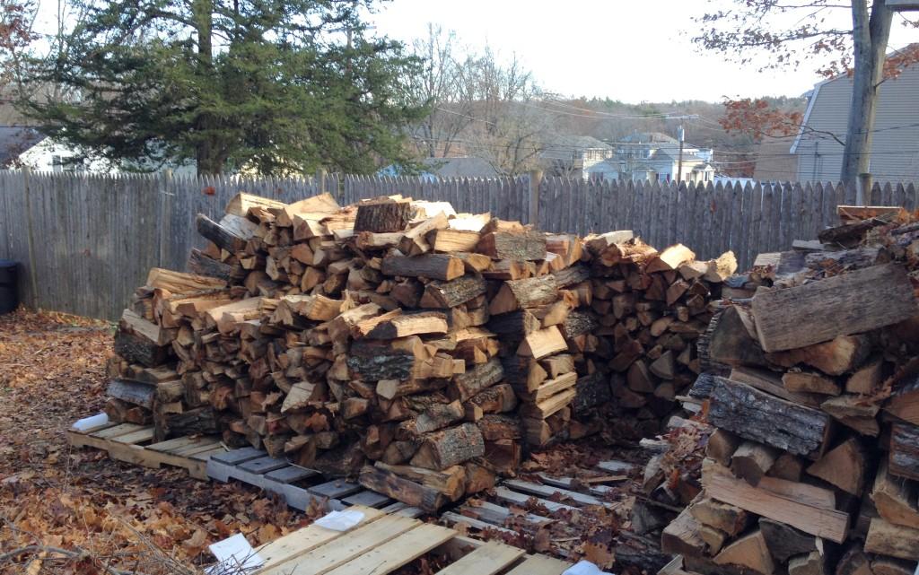 Wood pile 1