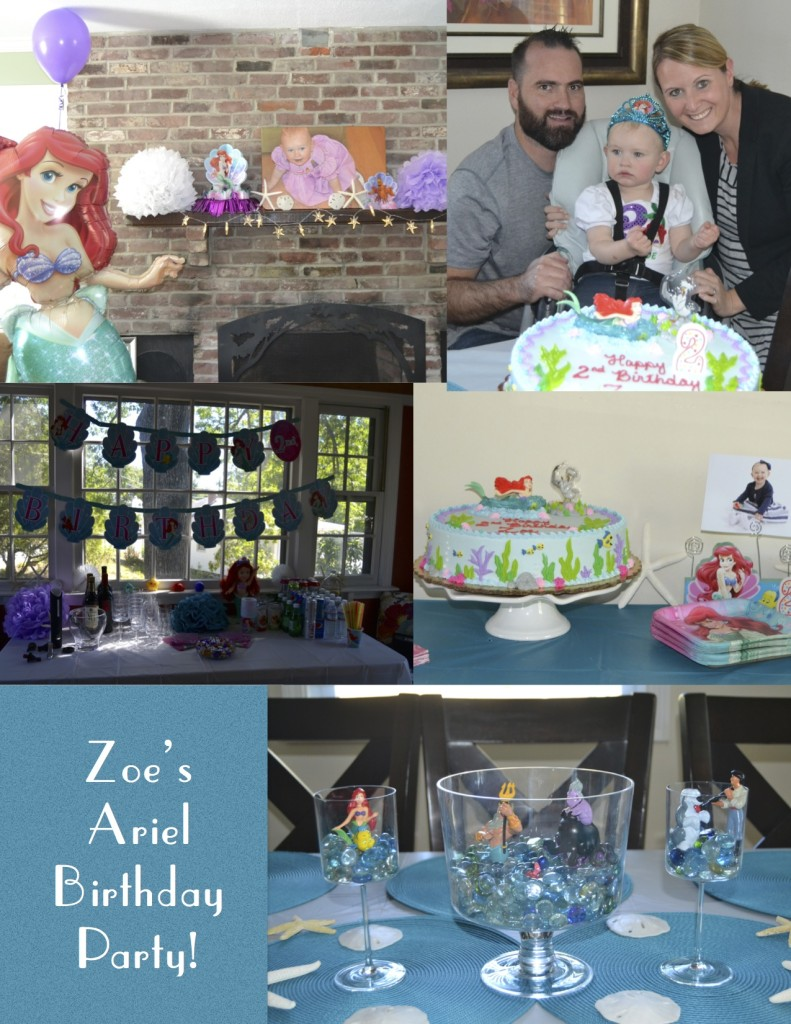 Zoe's Ariel Birthday Party